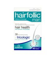 Vitabiotics WellMan Hairfollic Man 60 ταμπλέτες