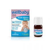Vitabiotics Wellbaby Πολυβιταμίνη σε Σταγόνες Drops 30ml