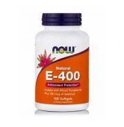 Now Natural E-400 100 Softgels