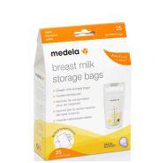 Μedela Ασκοί( Σακουλάκια) Φύλαξης Μητρικού Γάλακτος 180ml 25τμχ