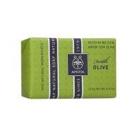 Apivita Φυσικό Σαπούνι Με Ελιά Για Ξηρές Επιδερμίδες 125gr