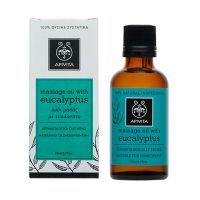 Apivita Natural Oil Λάδι Ευκάλυπτου Για Μασάζ 50ml