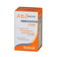 Health Aid A To Z Multivit Lutein 30 ταμπλέτες