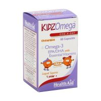 Health Aid KidzOmega 1+ χρονών 60 μασώμενες κάψουλες