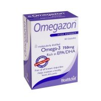 Health Aid Omegazon Anti-Reflux Formula  60 κάψουλες