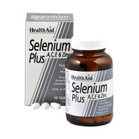 Health Aid Selenium Plus (Vitamins A, C, E & Zinc) 60 ταμπλέτες