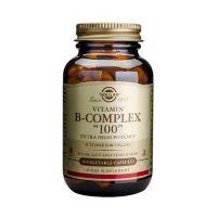 "Solgar Vitamin B-Complex ""100"" Extra High Potency Βιταμίνες 50 Veg. Caps"