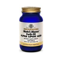 Solgar Nutri-Nano CoQ-10 Alpha Lipoic Acid 60 μαλακές κάψουλες