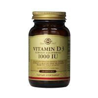 Solgar Vitamin D3 1000iu 100s μαλακές κάψουλες