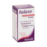 Health Aid Radiance Υδρογολυμένο Κολλαγόνο 1000mg 60 ταμπλέτες