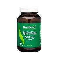 Health Aid Spirulina 500mg 60 ταμπλέτες