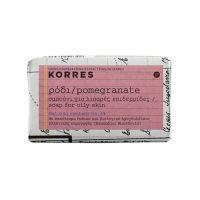 Korres Σαπούνι Ρόδι για Λιπαρές Επιδερμίδες 125gr