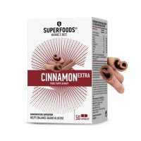 Superfoods Cinnamon Extra Κανέλα 110mg 50 κάψουλες