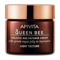 Apivita Queen Bee Kρέμα Ημέρας Προσώπου Ελαφριάς Υφής Ολιστικής Αντιγήρανσης Για Κανονικό/Μικτό Δέρμα 50ml