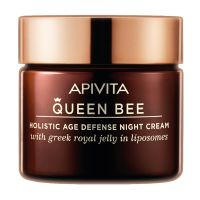 Apivita Queen Bee Κρέμα Νύχτας Προσώπου Ολιστικής Αντιγήρανσης 50ml