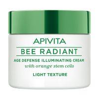 Apivita Bee Radiant Κρέμα Προσώπου Ελαφριάς Υφής Αντιγήρανσης & Λάμψης Για Κανονικές/Μικτές Επιδερμίδες 50ml