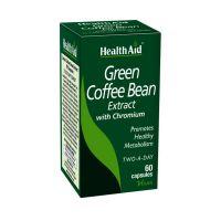 Health Aid Green Coffee Bean with Chronium 60 κάψουλες