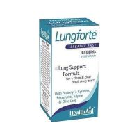 Health Aid Lungforte Breathe Easy 30 ταμπλέτες