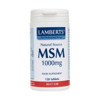 Lamberts Msm 1000mg 120 ταμπλέτες