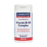 Lamberts Vitamin B 100 Complex 60 ταμπλέτες