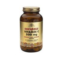 Solgar Chewable Vitamin C 500mg Orange 90 μασώμενες ταμπλέτες