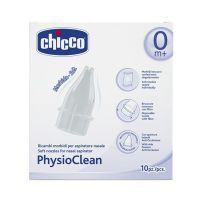 Chicco Physioclean Ανταλλακτικά Κιτ Αναρρόφησης Για Τη Μύτη 0m+ 10τμχ