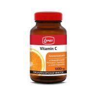 Lanes Vitamin C 1000mg με Βιοφλαβονοειδή 60 μασώμενες ταμπλέτες με γεύση Πορτοκάλι