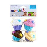 Munchkin Παιχνίδι μπάνιου Cupcakes 4τμχ 9m+