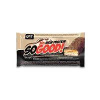 QNT So Good Bar Σνακ Υψηλών Πρωτεϊνών Με Γεύση Σοκολάτα Γάλακτος/Καραμέλα 60g