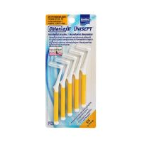 Intermed Unisept Chlorhexil Interdental Brushes SSS 0.70mm 5pcs
