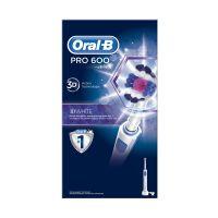 Oral-B Pro 600 3D White Επαναφορτιζόμενη Ηλεκτρική Οδοντόβουρτσα