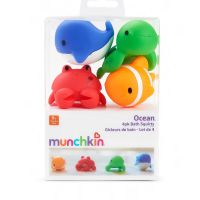 Munchkin Ocean Μπουγελόφατσες Ζώα Της Θάλασσας 9M+ 4τμχ