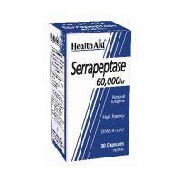 Health Aid Serrapeptase 60000IU Σερραπεπτάση Συμπλήρωμα Διατροφής 30 Κάψουλες