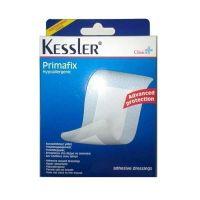 Kessler Primafix Αποστειρωμένες Αυτοκόλλητες Γάζες 5*7,2cm