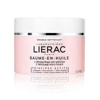 Lierac Baume-En-Huile Balm in Oil Double Action Cleanser for Dry Skin 120gr