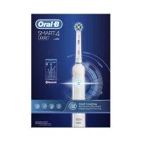 Oral-B Smart 4 4000 CrossAction Ηλεκτρική Επαναφορτιζόμενη Οδοντόβουρτσα