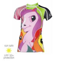 UV Sun Clothes Αντιηλιακά Ρούχα UVA & UVB Μπλούζα με κοντά μανίκια Πόνυ 18 μηνών
