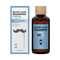 Vican Wise Men Fresh Σαμπουάν Γενειάδας & Μαλλιών 200ml