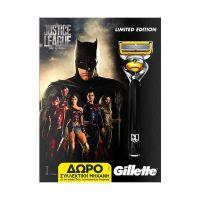 Gillette Fusion ProShield Set Justice League Limited Edition 3 Ανταλλακτικά & Δώρο Ξυριστική Μηχανή