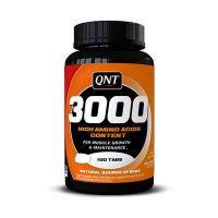 QNT Amino Acid 3000 Συμπλήρωμα Διατροφής Για Συντήρηση Των Μυών 100 Ταμπλέτες