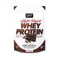 QNT Light Digest Whey Protein Η Νέα Γενιά Πρωτεΐνης Με Γεύση Belgian Chocolate 500g