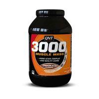 QNT 3000 Muscle Mass Συμπλήρωμα Διατροφής Για Αύξηση Βάρους Με Γεύση Σοκολάτα 1.3kg