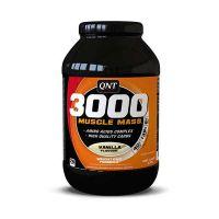 QNT 3000 Muscle Mass Συμπλήρωμα Διατροφής Για Αύξηση Βάρους Με Γεύση Βανίλια 1.3kg