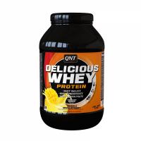 QNT Delicious Whey Protein Powder Για Μυϊκή Ανάπτυξη Με Γεύση Yoghurt Mango 1kg