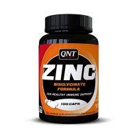 QNT Zinc Συμπλήρωμα Διατροφής Για Υγιές Ανοσοποιητικό Σύστημα 100 Κάψουλες