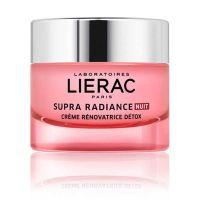 Lierac Supra Radiance Κρέμα Προσώπου Νύχτας Αποτοξίνωσης & Λάμψης 50ml