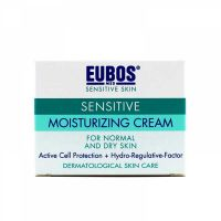 Eubos Sensitive Ενυδατική Κρέμα Ημέρας Προσώπου Κατά Της Πρόωρης Γήρανσης Για Κανονικό/Ξηρό Δέρμα 50ml