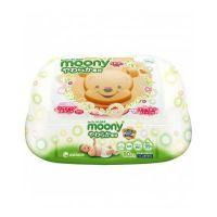 Moony Baby Wipes Μωρομάντηλα σε πλαστική θήκη 80pcs
