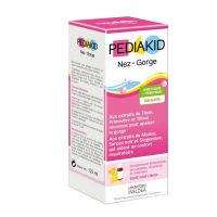 Pediakid Nez-Gorge Μύτη-Λαιμός Σιρόπι με Γεύση Μέλι-Λεμόνι 125ml