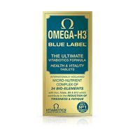 Vitabiotics Omega H3 Blue Label 30 δισκία
